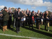 Rob Andrew opens Bluetts Rugby Pitch Cranlneigh School.2 copy copy