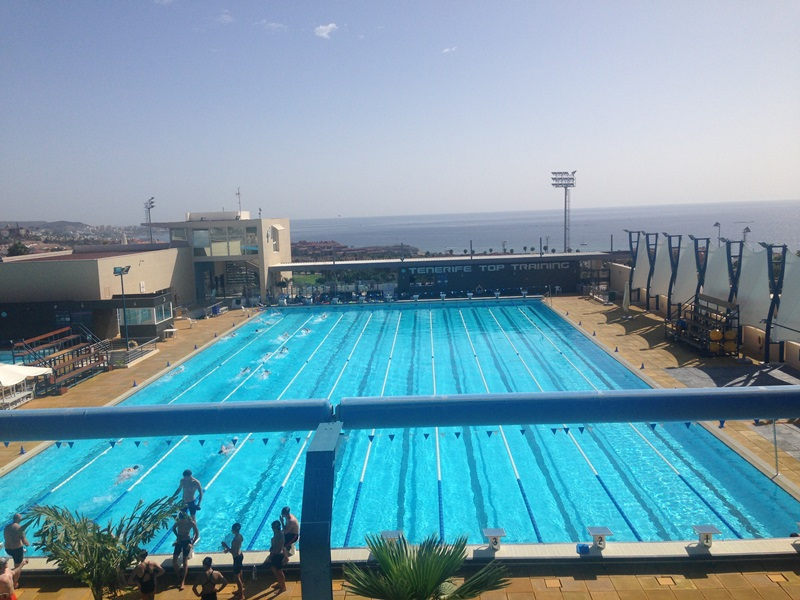 Swimming training camp tenerife 2014 cranleigh school for Swimming pool certification course