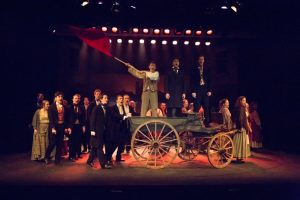 Photo from Cranleigh School's Performance of Les Miserables
