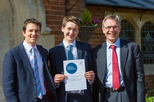 A photo taken by Lillian Spibey entitled: Cranleigh Benjamin Chesser Geography Award-3803