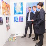 A photo taken by Lillian Spibey entitled: Cranleigh Art Exhibition Private View-4489