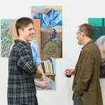 A photo taken by Lillian Spibey entitled: Cranleigh Art Exhibition Private View-5775