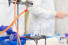 A photo taken by Lillian Spibey entitled: Cranleigh UVI Chemistry Practical-5930