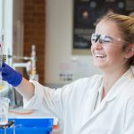 A photo taken by Lillian Spibey entitled: Cranleigh UVI Chemistry Practical-6057