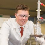 A photo taken by Lillian Spibey entitled: Cranleigh UVI Chemistry Practical-6070