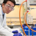 A photo taken by Lillian Spibey entitled: Cranleigh UVI Chemistry Practical-6080