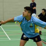 A photo taken by Martin Williamson entitled: Badminton - Junior House Matches 2019