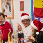 A photo taken by Lillian Spibey entitled: Cranleigh VI Form Spanish Evening- La Navidad-5206