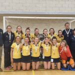 A photo taken by  entitled: Girls U16 national indoor champions 2020