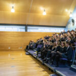 A photo taken by Lillian Spibey entitled: Cranleigh UV PSHE Lecture Festival Party or Problem-3338