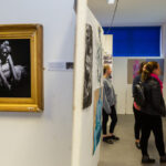 A photo taken by Lillian Spibey entitled: Cranleigh LVI Art Exhibition Private Viewing-6005
