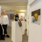 A photo taken by Lillian Spibey entitled: Cranleigh LVI Art Exhibition Private Viewing-6020