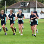 A photo taken by Martin Williamson entitled: IVth Form Cross Country 2020