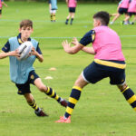 A photo taken by Martin Williamson entitled: U-14 rugby practice 2020