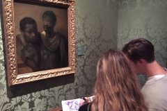 Sketching from Rembrandt at the Mauritshuis in Den Haag
