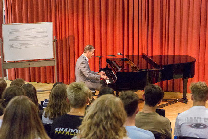 Cranleigh Harry and the Piano Workshop
